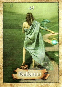 Enchanted Map Oracle-Talisman