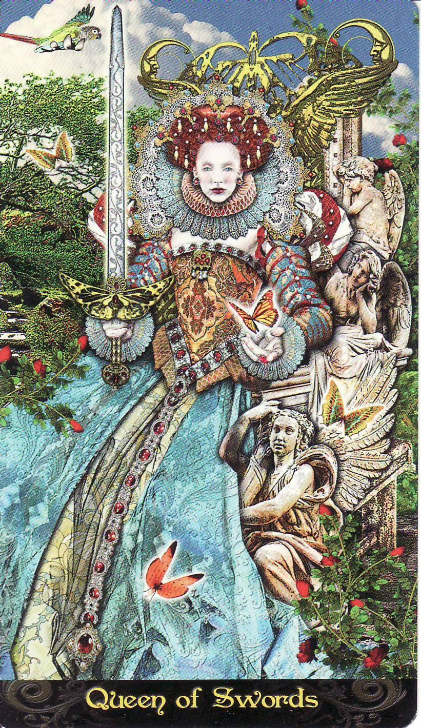 Today's Tarot: Queen Of Swords