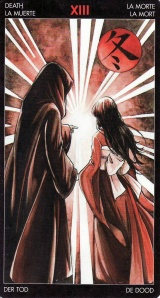 The Death card, from the Manga Tarot. The Death card instills fear for those not familiar with Tarot--and makes it the one of the most misunderstood cards in the deck.