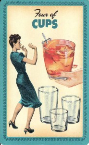4 of Cups-Housewives Tarot