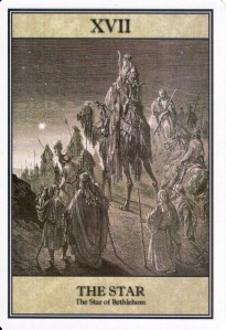 The Star, from the Dore Great Bible Tarot.