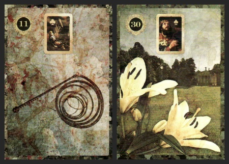 The Whip and the Lilies, from the Malpertuis Lenormand.