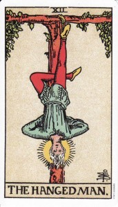 The Hanged Man-Original Rider Waite Tarot