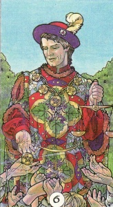 6 of Pentacles-Robin Wood Tarot