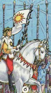 6 of Wands-Robin Wood Tarot