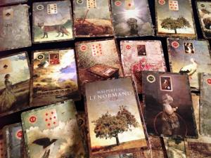 Ever since I got the Malpertuis Lenormand, I've been coming up with all sorts of reasons to break out the cards.