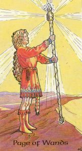 Page of Wands-Robin Wood Tarot