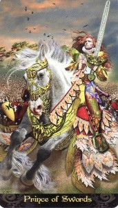 Prince of Swords-Tarot Illuminati