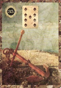 The Anchor, from the Malpertuis Lenormand.