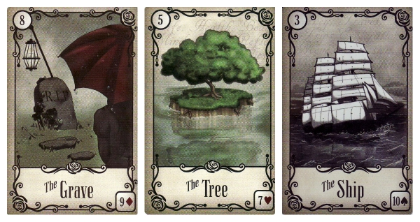 The Grave-The Tree-The Ship-UtR Lenormand