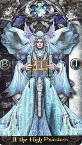 The High Priestess-Tarot Illuminati