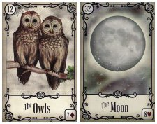 The Owls and The Moon
