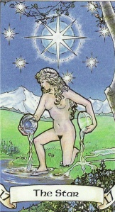the Star-Robin Wood Tarot