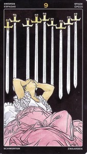 9 of Swords-Universal Tarot Pro