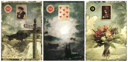 Crossroads Moon Bouquet-Malpertuis Lenormand