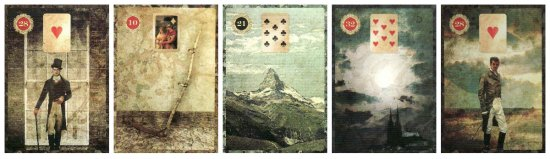 Will Horton's Line of Five Lenormand reading.