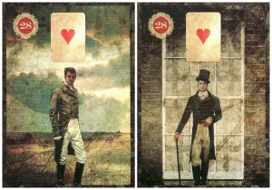 Sonny (The Man, on the left) and Will (The Gentleman, on the right), from the Malpertuis Lenormand.