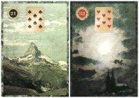 Mountain and Moon-Malpertuis Lenormand