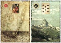 Scythe and Mountain