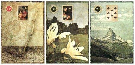 Scythe Lilies Mountain-Malpertuis Lenormand