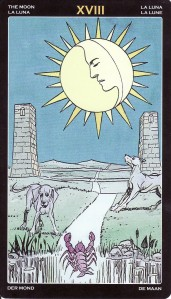 The Moon-Universal Tarot Pro