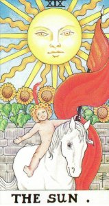 The Sun-Universal Waite Tarot