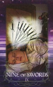 9 of Swords-Lotus Circle