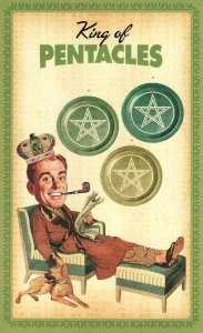 King of Pentacles-Housewives Tarot