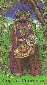 King of Pentacles-Robin Wood Tarot