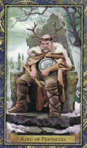 King of Pentacles-Wizards Tarot
