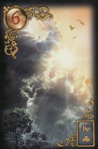 The Clouds-Gilded Reverie Lenormand