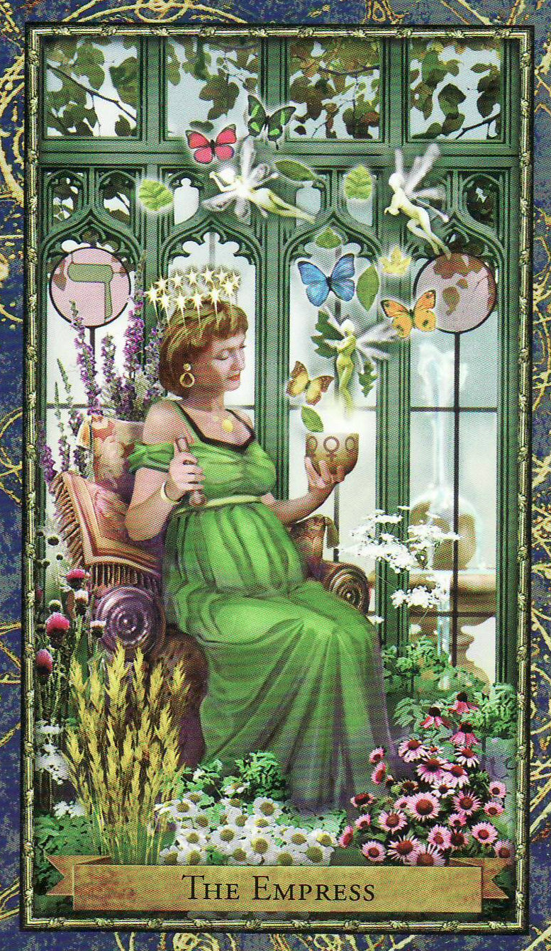 The Empress And Death Antique Tarot Cards: Your Week In Tarot: Week Ending April 19, 2015