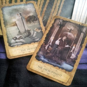 The Hermit and The Hierophant-Mystic Dreamer