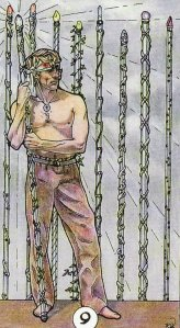 9 of Wands-Robin Wood Tarot