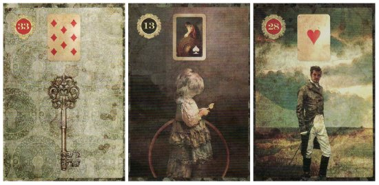 Key, Child, and Man, from the Malpertuis Lenormand.
