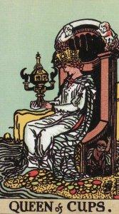 Queen of Cups-Original Rider Waite
