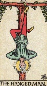 The Hanged Man-Original Rider Waite Tarot