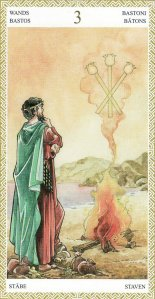 3 of wands-lo scarabeo tarot