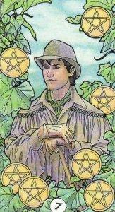 7 of Pentacles-Robin Wood Tarot