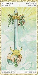 ace of swords-lo scarabeo