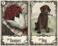 bouquet dog-under the roses