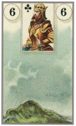 The Clouds card of the Lenormand sparked a synchronistic moment between me and the Universe.
