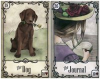dog journal-under the roses