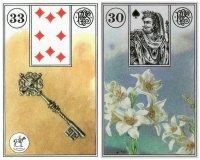 key lilies-piatnik