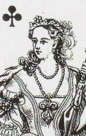 Queen of Clubs-piatnik