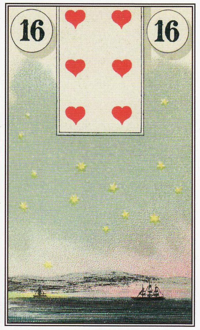Карта Звезды из Оракула Мадам Ленорман