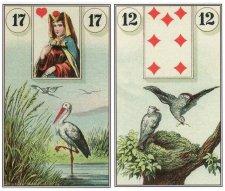 stork birds-dondorf lenormand