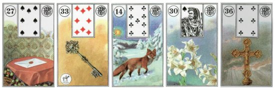 weekly lenormand outlook 8-24-2015