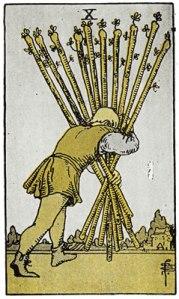 10 of Wands-Gutenberg