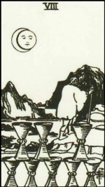8 of cups-ny lenormand